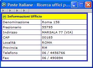 poste italiane bollettino report